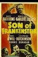 Son of Frankenstein (1939) Poster
