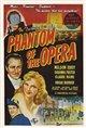 The Phantom of the Opera (1943) Poster