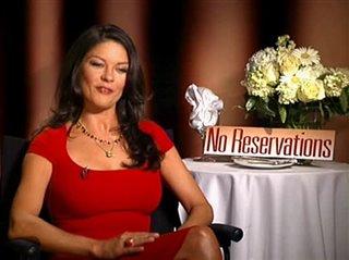 Catherine Zeta Jones No Reservations Interview