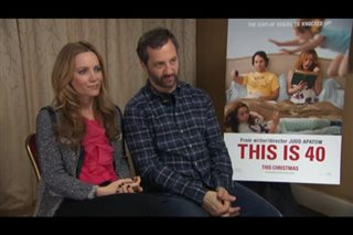 Leslie Mann & Judd Apatow (This is 40) Interview ...