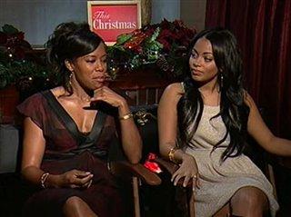 This Christmas Sharon Leal.Sharon Leal Mekhi Phifer This Christmas Interview